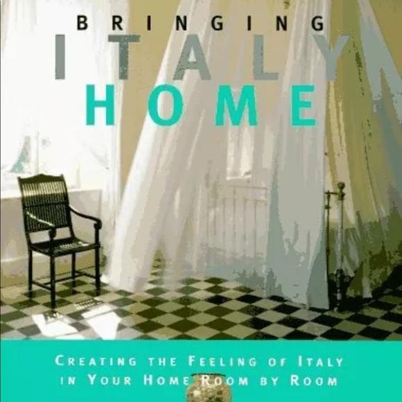 Vintage Bringing Italy Home Book